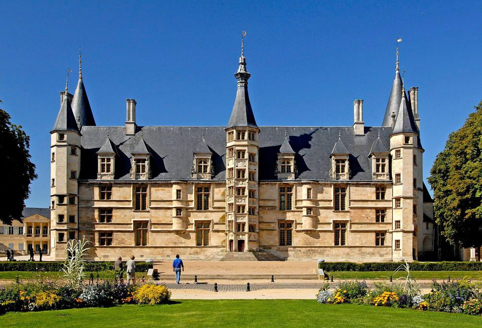 Ducal palace in Nievre Burgundy